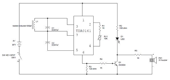 metal detector circuit alectronix mobie in rh alectronix mobie in Metal Detector Schematic Metal Detector Schematic Circuit Diagram